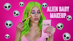 TRYING SOMETHING NEW.. EXTRATERRESTRIAL MAKEUP 👽🛸✨