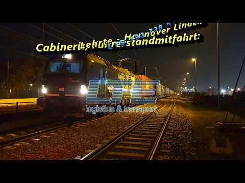 Cabinerit, Führerstandmitfahrt: Lehrte - Hannover Linden