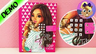 TOPMODEL Electronic diary with CODE and music - secret diary | How to change the code