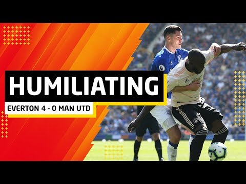 Humiliated. | Everton 4-0 Manchester United