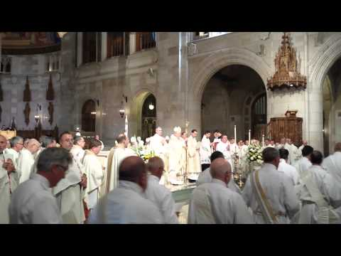 Installation Mass Procession Of Deacons