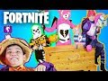 BEST FORTNITE COSTUMES! We Find a TREASURE Chest in a GIANT Surprise Adventure by HobbyKidsTV