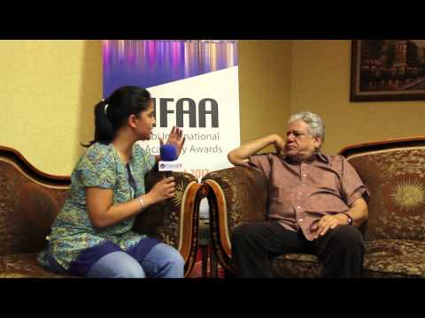 Om Puri One on One Interview - Punjabi International Film Academy Awards