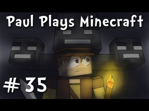 "Paul Plays Minecraft - E35 ""Pet Name-Day Celebration"" (Solo Survival Adventure)"