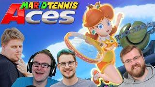 Babes Party 🎮 Mario Tennis Aces #6
