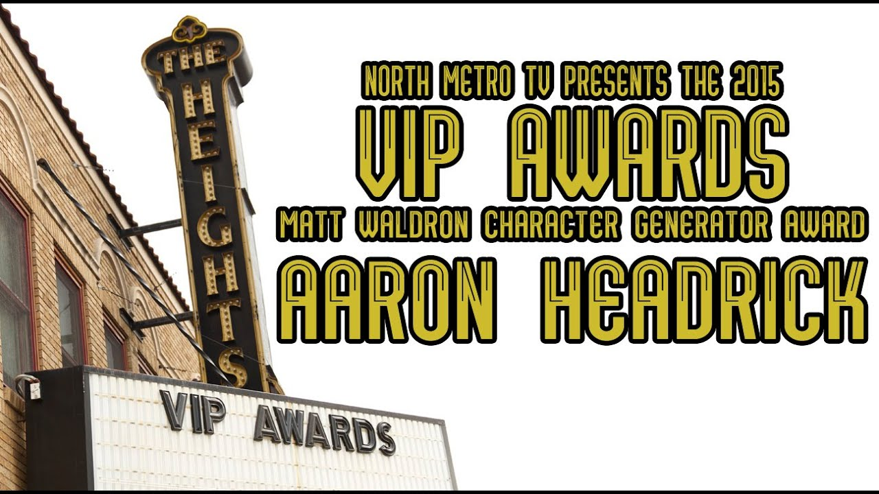 nmtv vip awards 2015 matt waldron character generator award