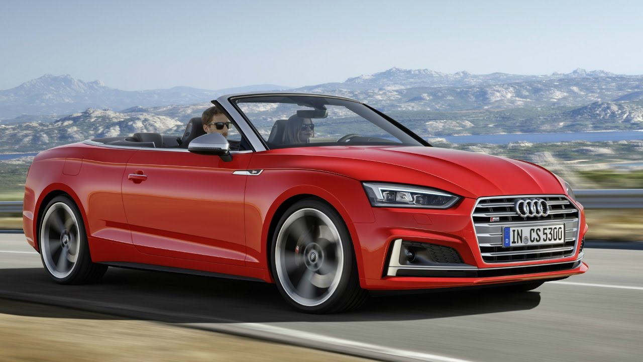 2017 audi s5 cabriolet 354 hp awesome drive and interior youtube. Black Bedroom Furniture Sets. Home Design Ideas