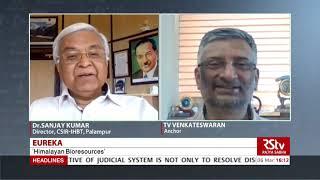 Eureka - Dr. Sanjay Kumar, Director CSIR-IHBT, Palampur