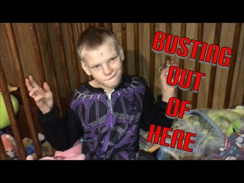 Busting Out || Morning Routine With Kyle, Special Needs Child With Cri Du Chat