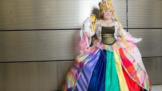 Lady rainicorn! adventure time cosplay at nycc 2014
