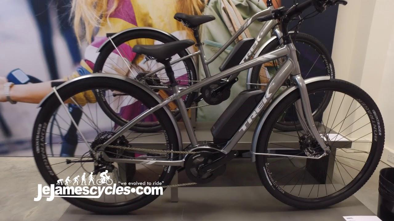 Trek Verve Electric Bike 2018 Youtube