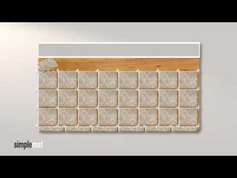 How to Lay Out Tile on a Countertop - YouTube