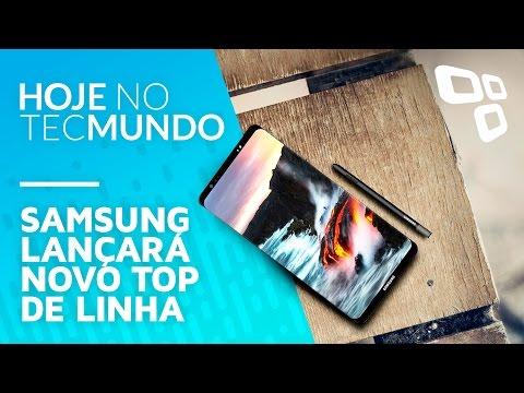 Samsung lançará novo top de linha - Hoje no TecMundo