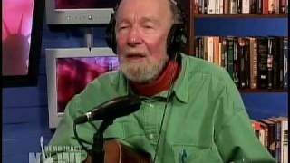 "Pete Seeger on ""Waist Deep in the Big Muddy"" Democracy Now 8 of 15"