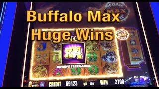 BUFFALO MAX (New Slot) - HUGE WINS + great comeback