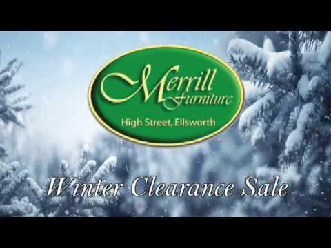 Merrill Furniture   Winter Clearance Sale 2017