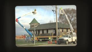 The Entire Clare, Mich Railroad Depot Up and Moves