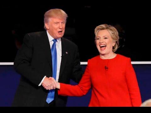 Дебаты Клинтон и Трампа - с переводом на русский