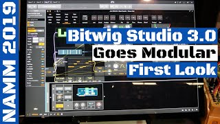 NAMM 2019: Bitwig Studio 3.0 DAW Goes Modular! | SYNTH ANATOMY