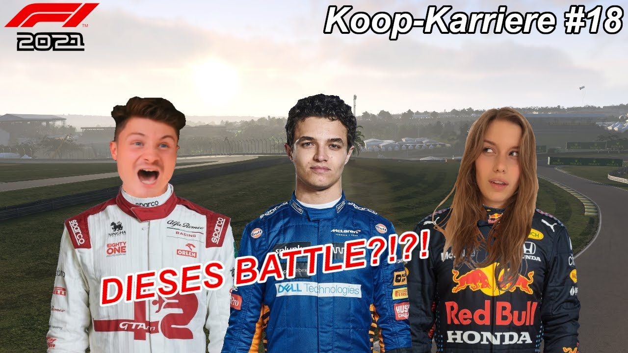 Download EXTREME Anspannung & DOUBLE OVERTAKE! F1 2021 KOOP-KARRIERE mit Dner! #18