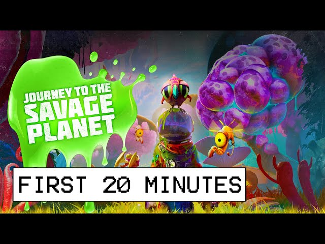 Journey To The Savage Planet First 20 Minutes Of Gameplay