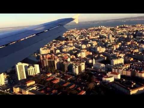 Landing in Lisbon, Portugal (British Airways Flight 502)