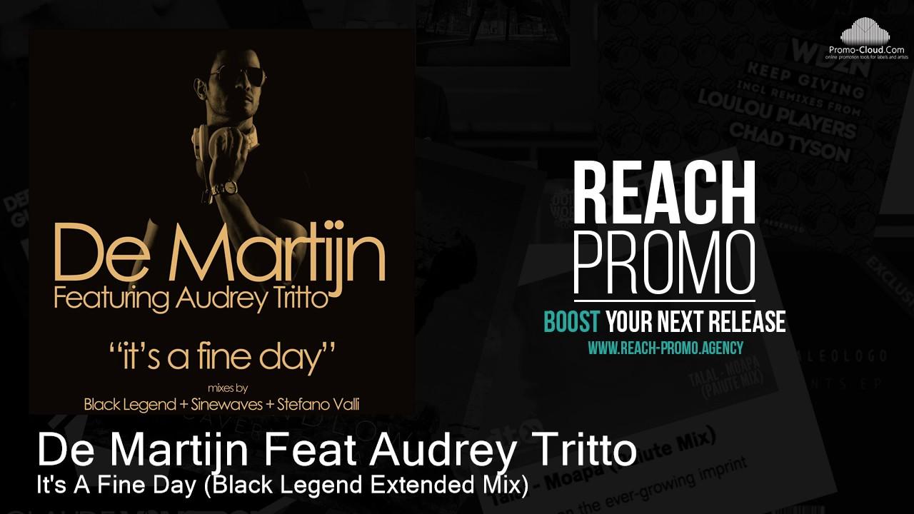 Download UHM005 De Martijn Feat Audrey Tritto - It's A Fine Day (Black Legend Extended Mix) [House]