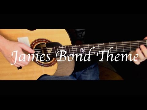 James Bond Theme - Fingerstyle Guitar