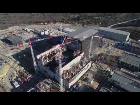 ITER by drone - February 2019