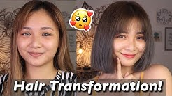 SHORT HAIR TRANSFORMATION SA BAHAAAAY! | Lou Sanchez