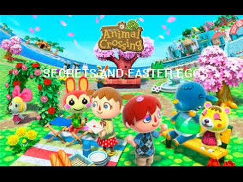 Animal Crossing New Leaf Easter Eggs And Secrets - YouTube