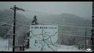 MAVIC PRO 札幌市中央区宮の森「宮の森ジャンプ競技場(ノーマルヒル)」空撮 ♯1