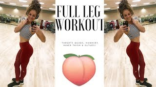 Full Leg workout | Glutes, Inner Thighs and Hammies