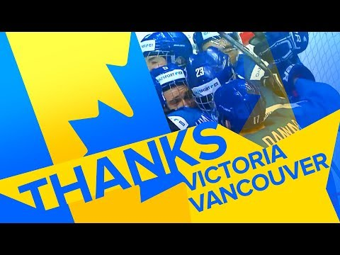 Thanks Sweet Caroline! Thanks Victoria! Thanks Vancouver!