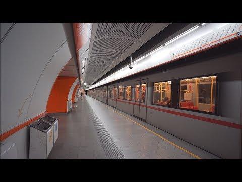 Austria Vienna U Bahn Ride From Zieglergasse To Westbahnhof Youtube