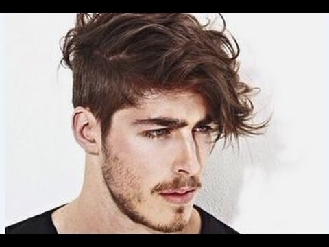 Mens Hairstyles Short Sides Messy Top - YouTube