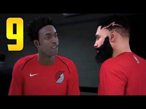 "NBA 2K18: My Career Gameplay Walkthrough - Part 9 ""DID HE CALL ME FAT!?"" (My Player Career)"