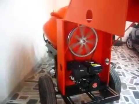 Mezcladora para concreto motor diesel gasolina o - Mezcladora de cemento ...