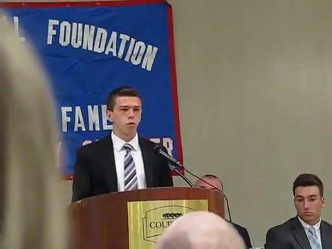 National Football Foundation Speech