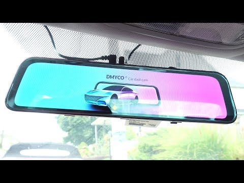 Dmyco 2K Rearview Mirror Dual Lens Dashcam Review