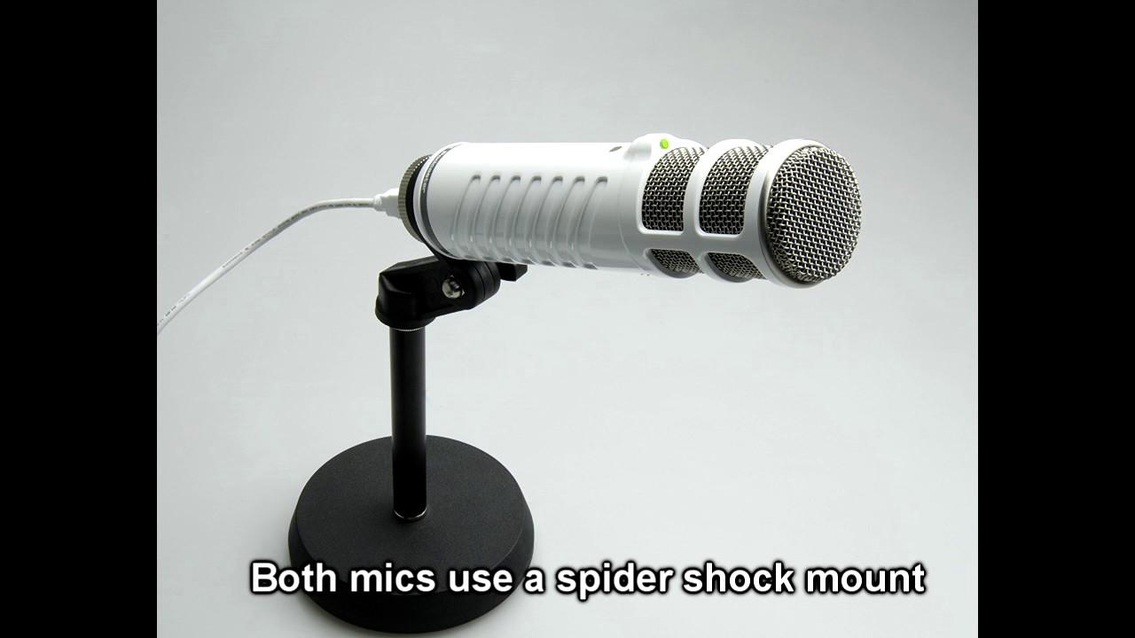 rode podcaster vs samson co1u usb microphone youtube. Black Bedroom Furniture Sets. Home Design Ideas