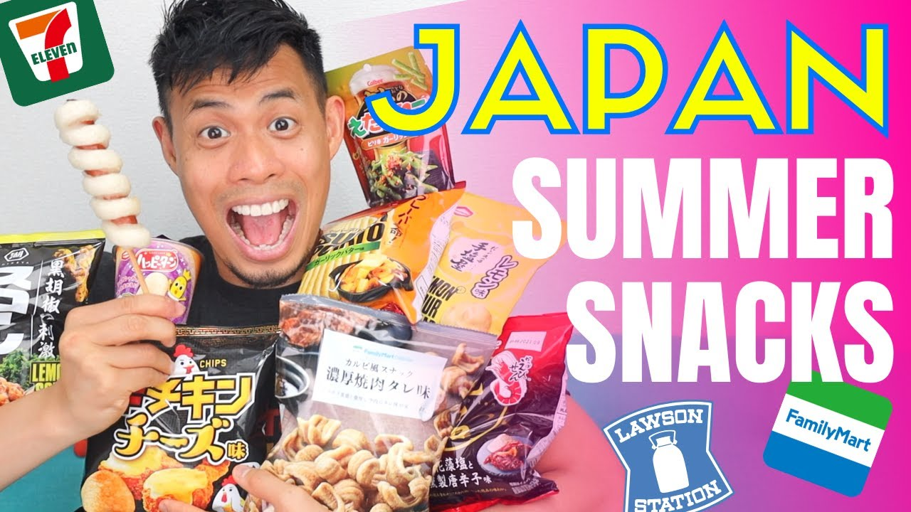 Japanese Convenience Store Latest Summer Snack Favorites