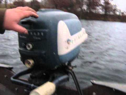 1958 Evinrude Sportwin 10 Hp Outboard Motor Youtube