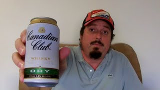 Canadian Club Whisky & Dry 4.8% ABV - SwillinGrog Premix/RTD Review