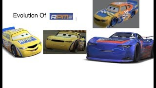 Disney Cars The Evolution of RPM