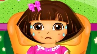 Dora the Explorer - Disease Doctor Care - Cartoon Movie Game for Children in English 2015 HD