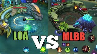 ANALYZE LOA vs MLBB | LEGEND OF ACE | MOBILE LEGENDS BANG BANG 2.0 screenshot 3
