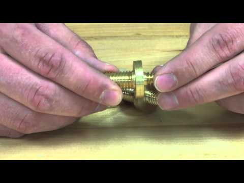 Using Cane Couplers to Make a Collapsible Cane or Walking Stick