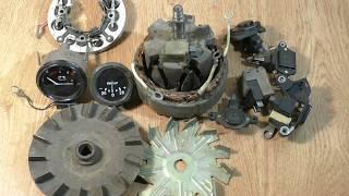 Необычный автомобильный генератор. Новые идеи для пользы дела от автоэлектрика ВЧ.
