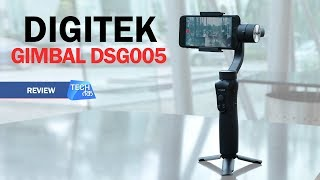 Digitek Gimbal DSG005 REVIEW | Tech Tak